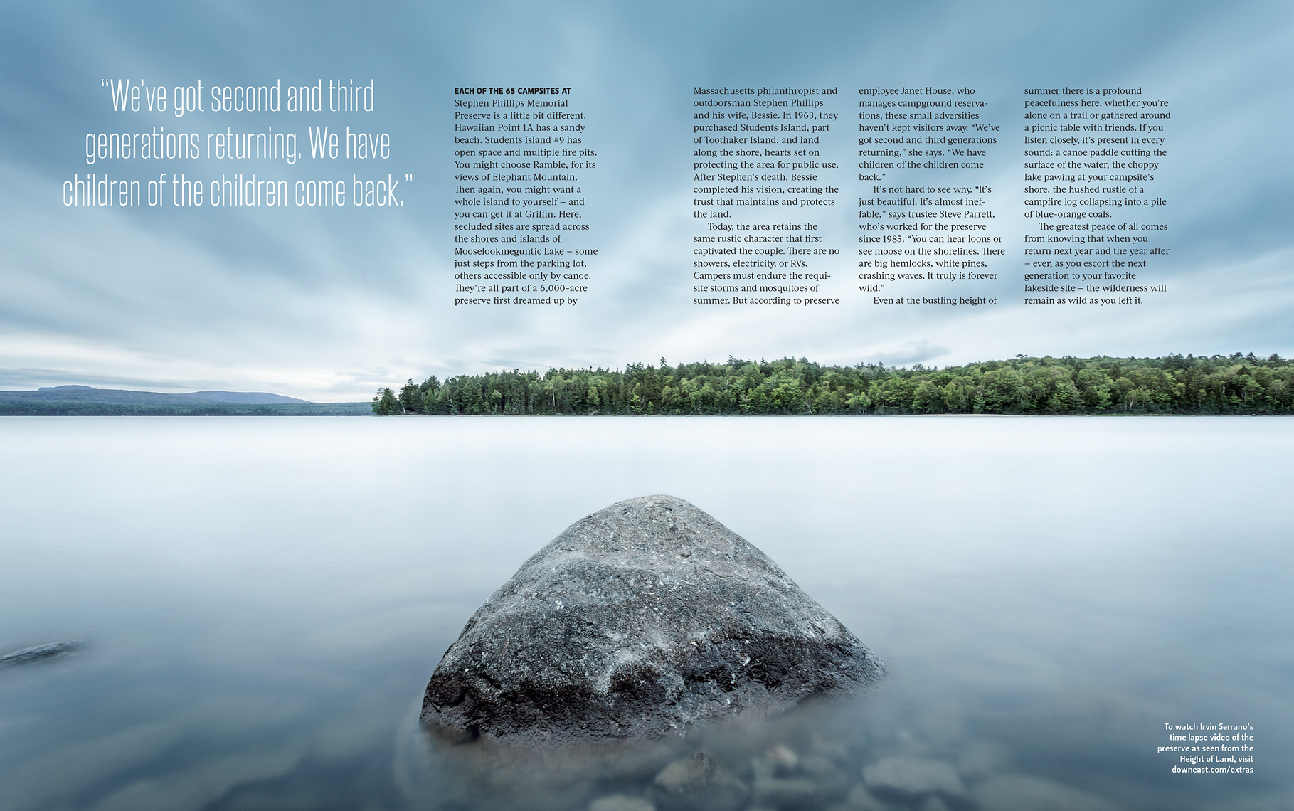 Camp Rangeley DownEast Feature