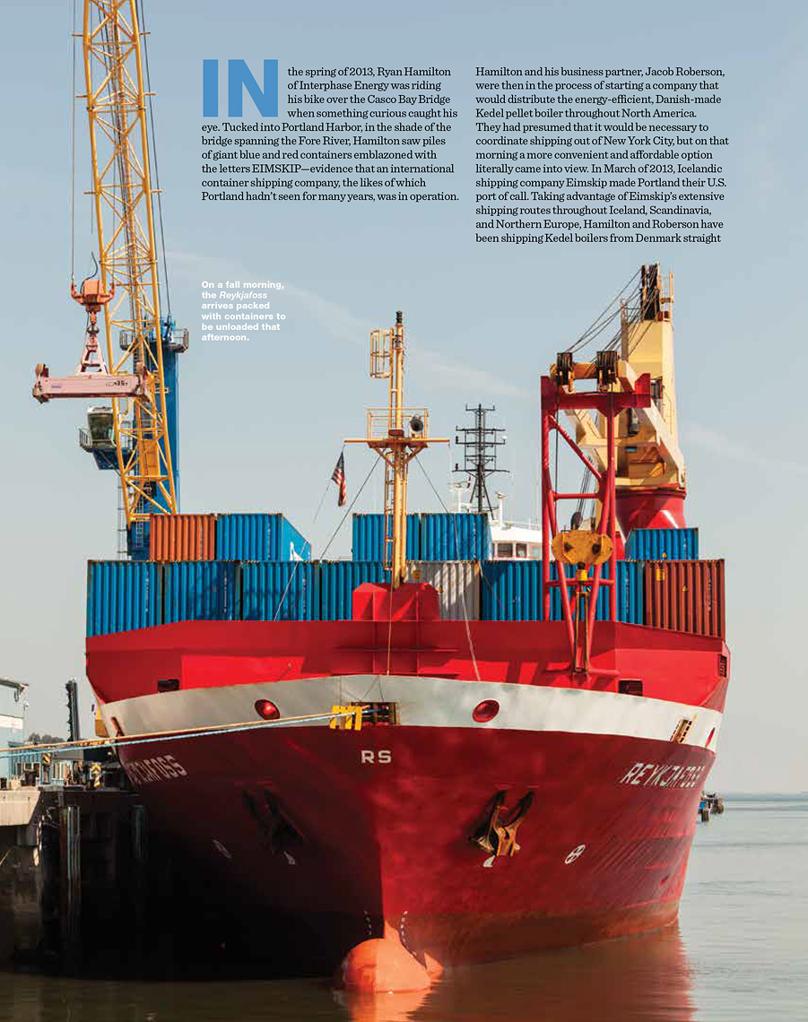 EIMSKIP Editorial Feature