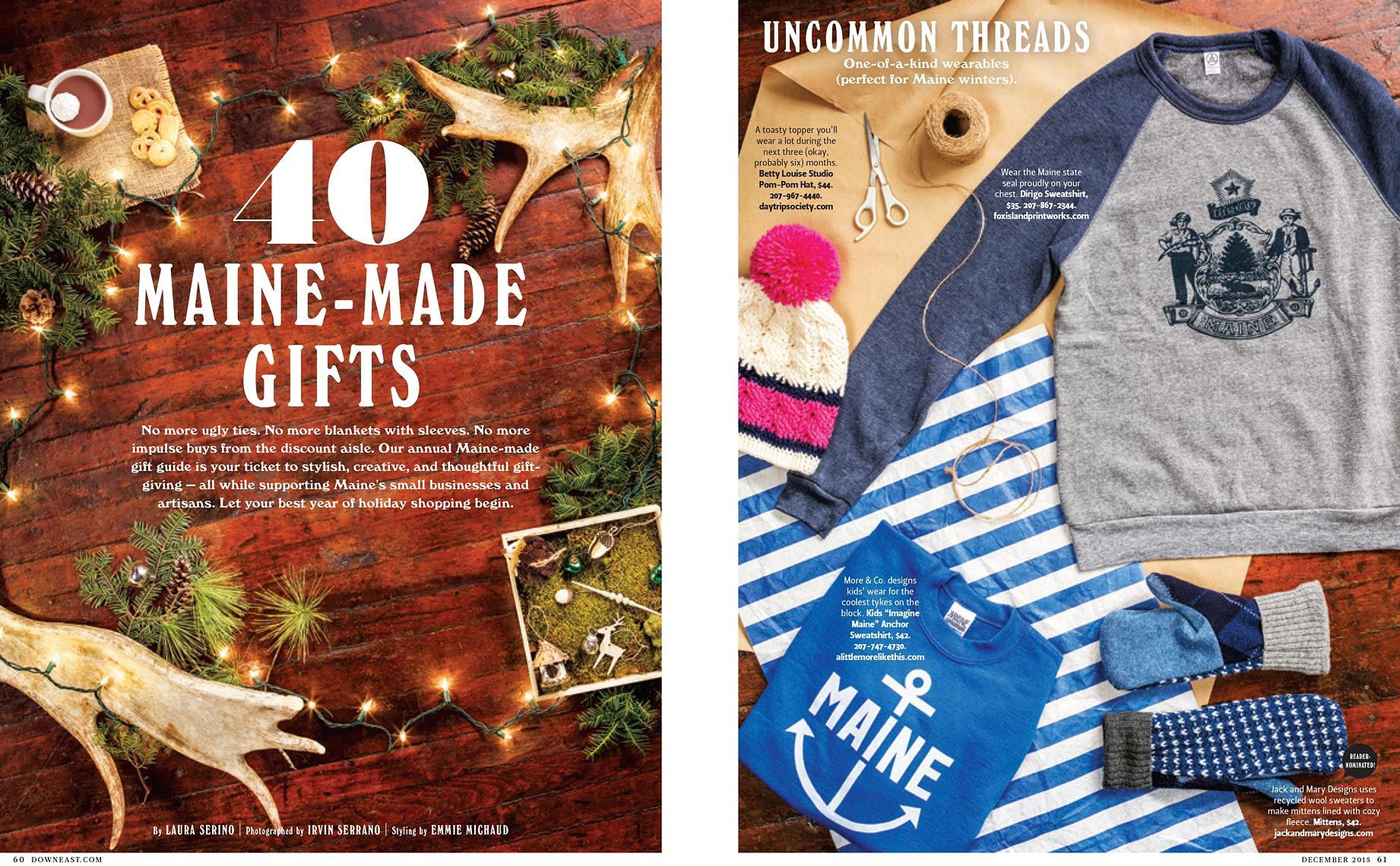 DownEast Magazine Gift Guide