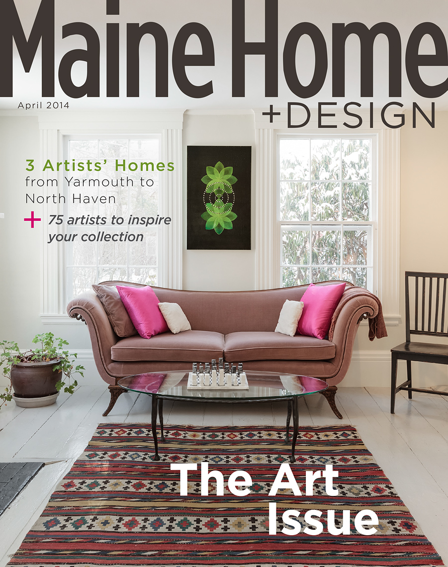 Maine Home and Design Cover Photograph