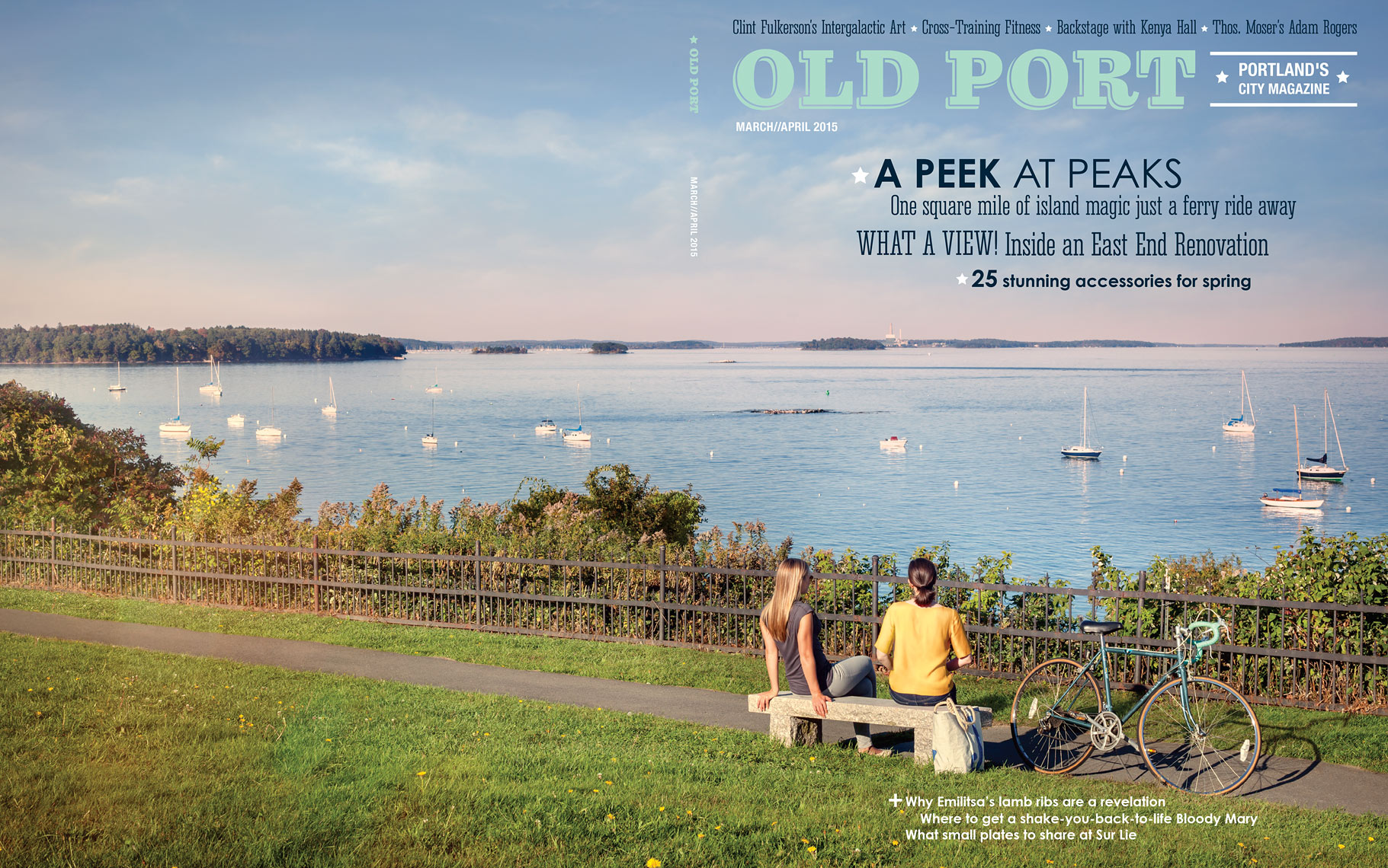 Old Port Magazine Cover Feature