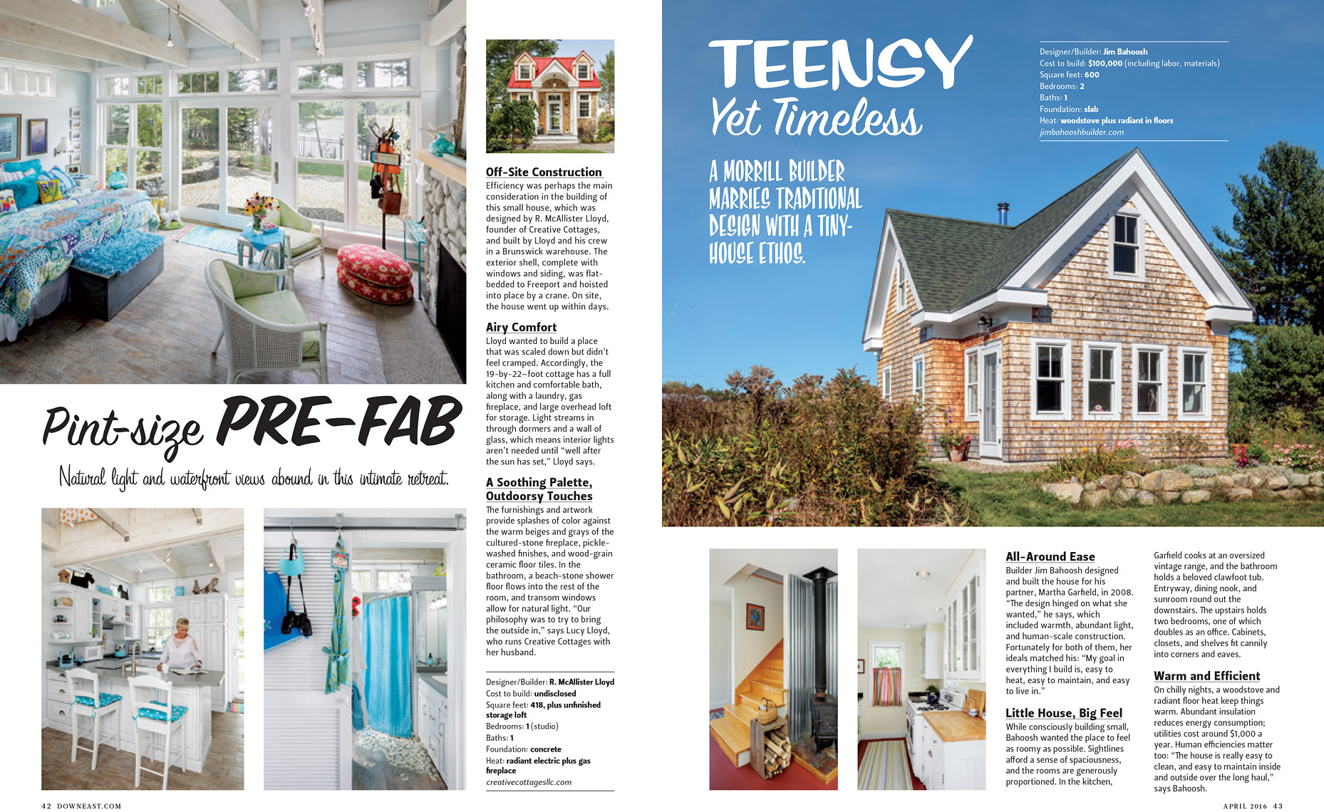 Tiny Homes Editorial