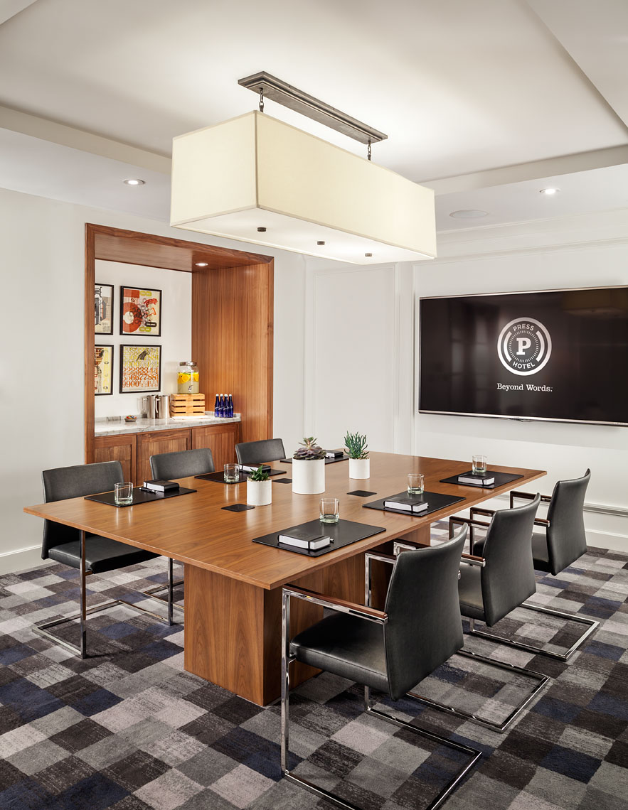Conference Room At Press Hotel
