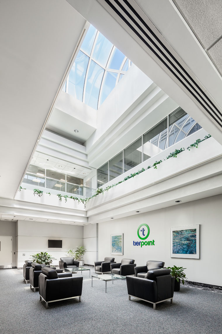 Tierpoint Lobby Architecture